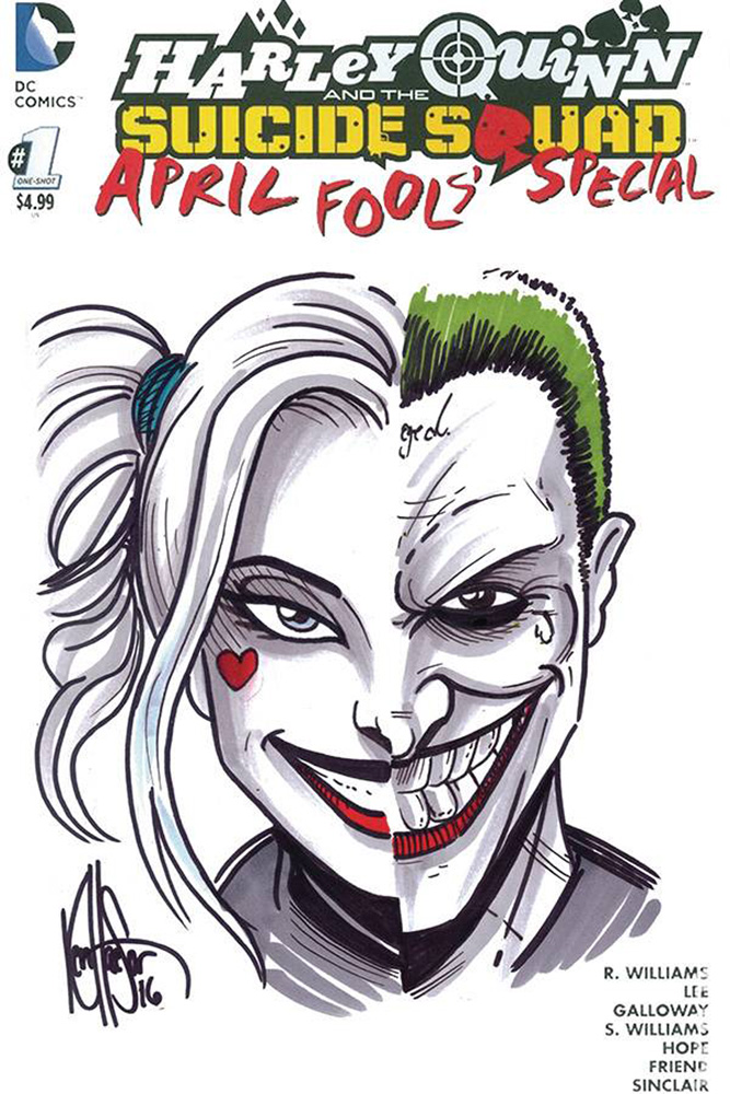 Harley Quinn The Suicide Squad 1 Variant Dfe Cover Harley