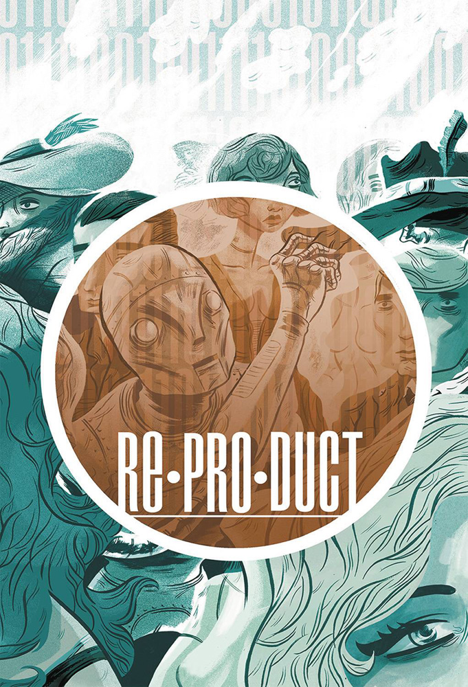 Image: ReProDuct Vol. 01 HC  - Magnetic Press Inc.