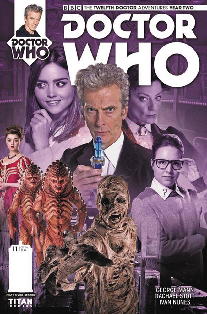 Image: Doctor Who: The 12th Doctor - Year Two #11 (cover B - Photo)  [2016] - Titan Comics