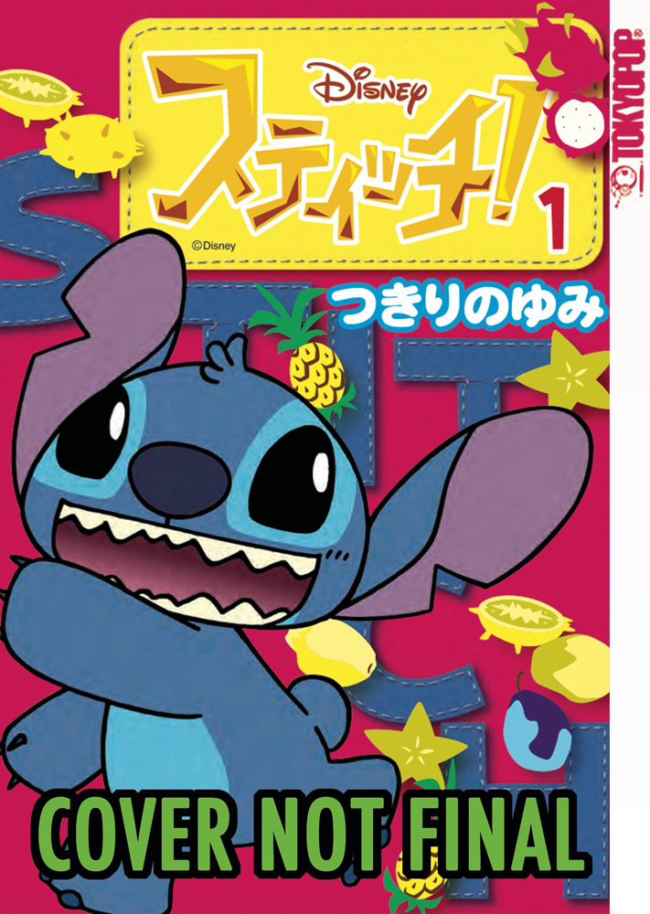 Image: Disney Stitch! Vol. 01 SC  - Tokyopop