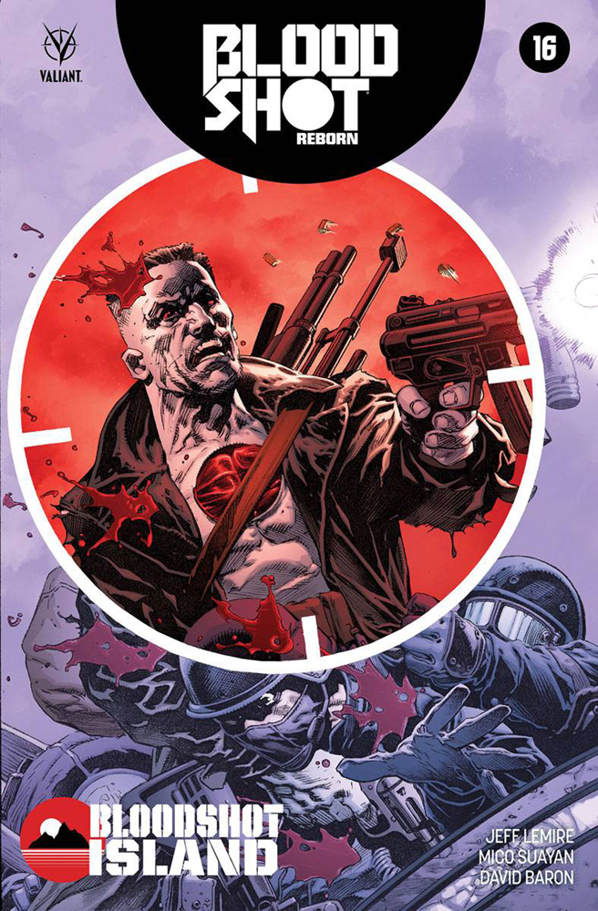 Image: Bloodshot Reborn #16 (cover A - Giorello)  [2016] - Valiant Entertainment LLC