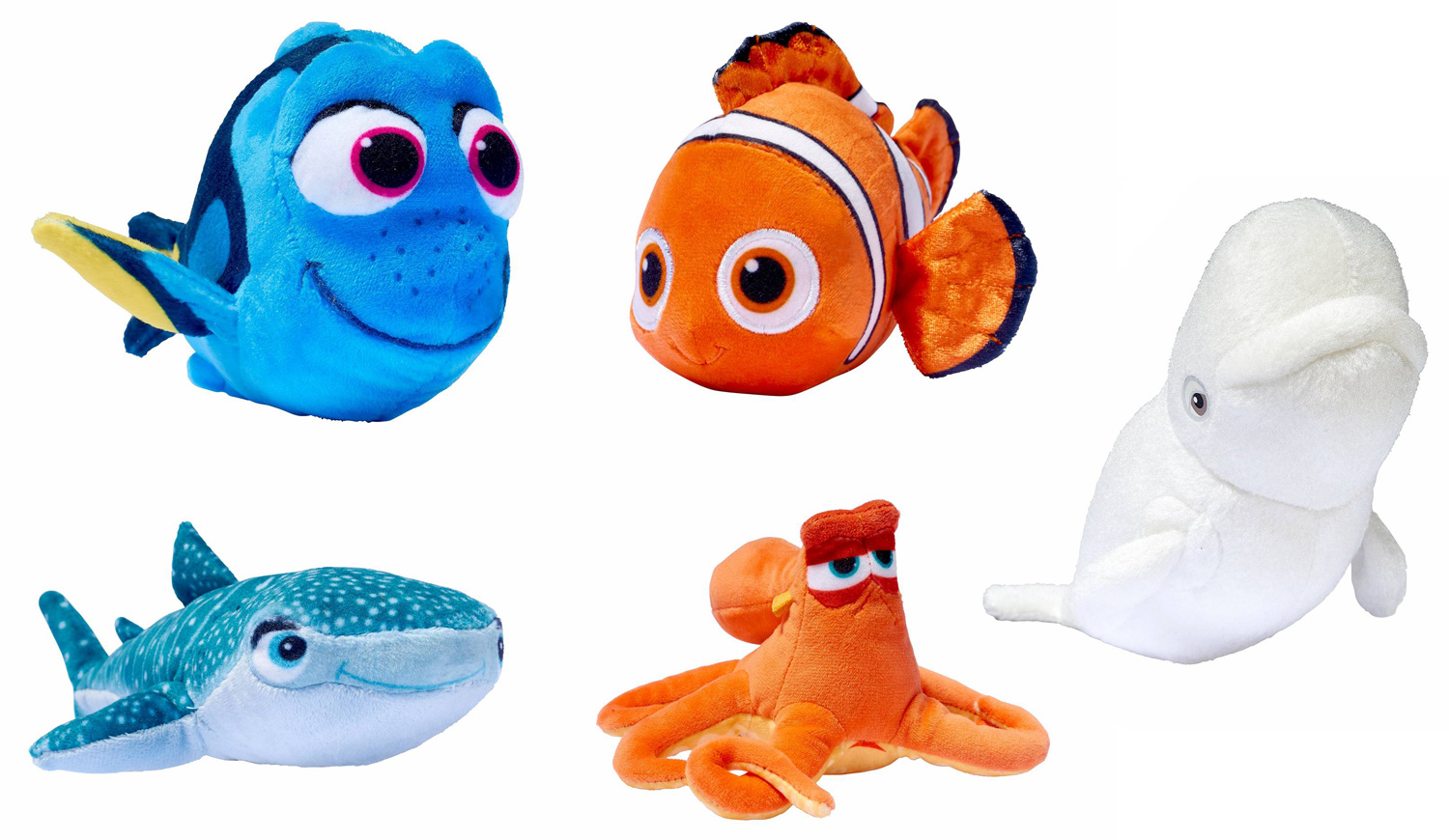 Image: Finding Dory Mini-Plush Assortment  - Bandai America