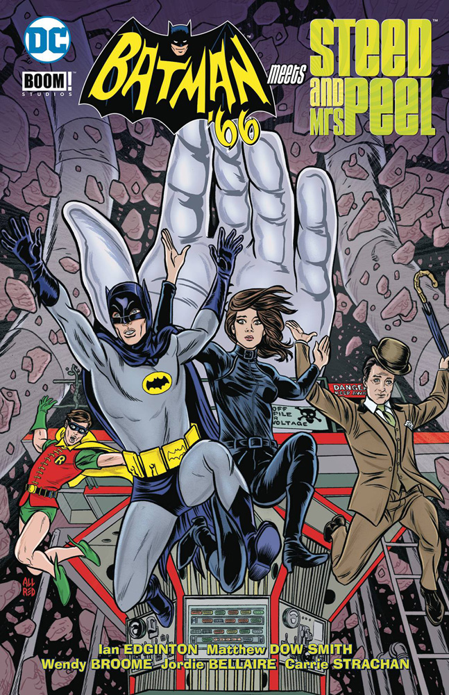 Image: Batman '66 Meets Steed and Mrs. Peel SC  - DC Comics