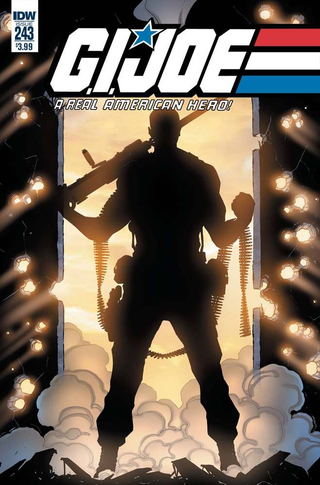 Image: G.I. Joe: A Real American Hero #243 (cover A - Gallant)  [2017] - IDW Publishing