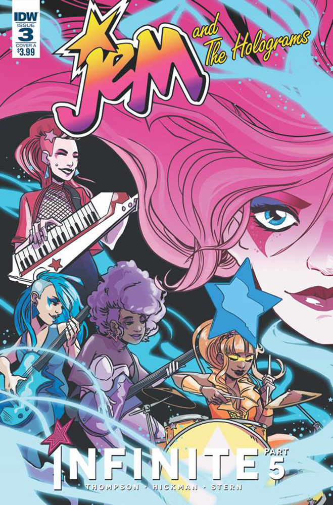 Image: Jem and the Holograms: Infinite #3 (cover A - Hickman)  [2017] - IDW Publishing