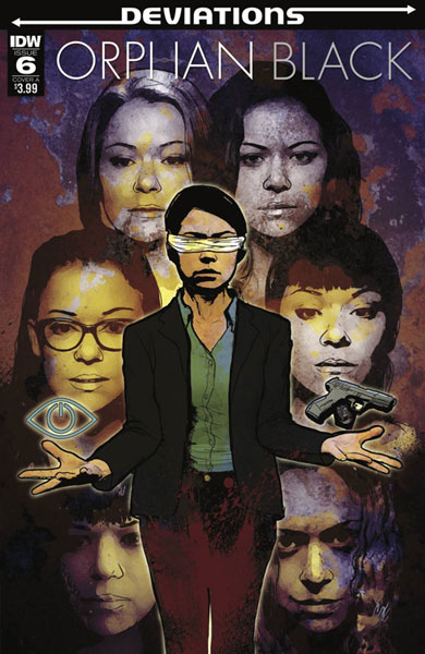 Image: Orphan Black: Deviations #6 (cover A - Staggs) - IDW Publishing