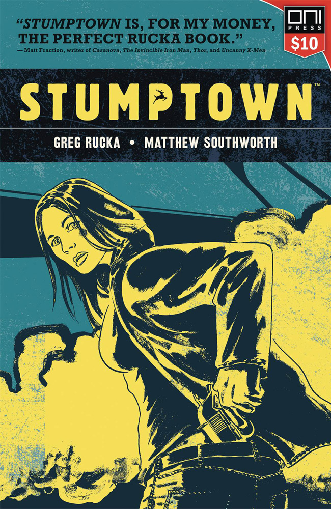Image: Stumptown Vol. 01: The Case of the Girl Who Took Her Shampoo  (But Left Her Mini) SC - Oni Press Inc.