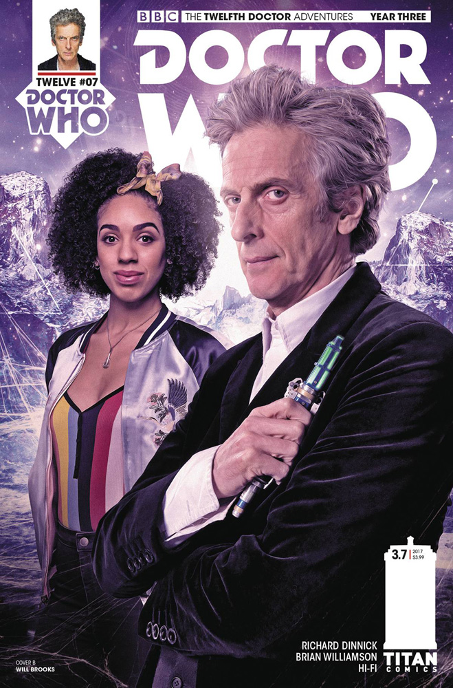 Image: Doctor Who: The 12th Doctor Year Three #7 (cover B - Photo) - Titan Comics