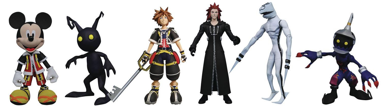Kingdom Hearts Select Action Figure Series 1 Set  (2) - Diamond Select Toys LLC