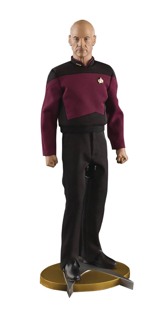 Image: Star Trek TNG Action Figure: Capt. Jean-Luc Picard  (1/6-scale) - Quantum Mechanix Inc
