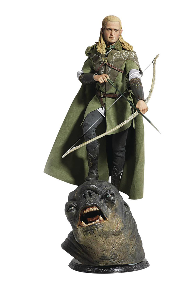 Image: Lord of the Rings Action Figure: Legolas  (1/6-scale) (Deluxe edition) - Asmus Toys, Inc.