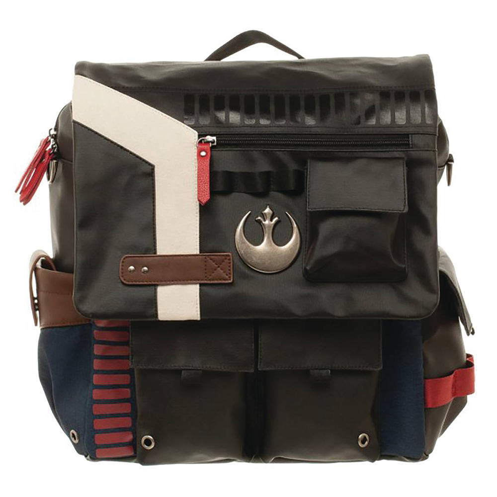 Image: Star Wars Backpack: Han Solo Inspired  (Convertible) - Bioworld Merchandising
