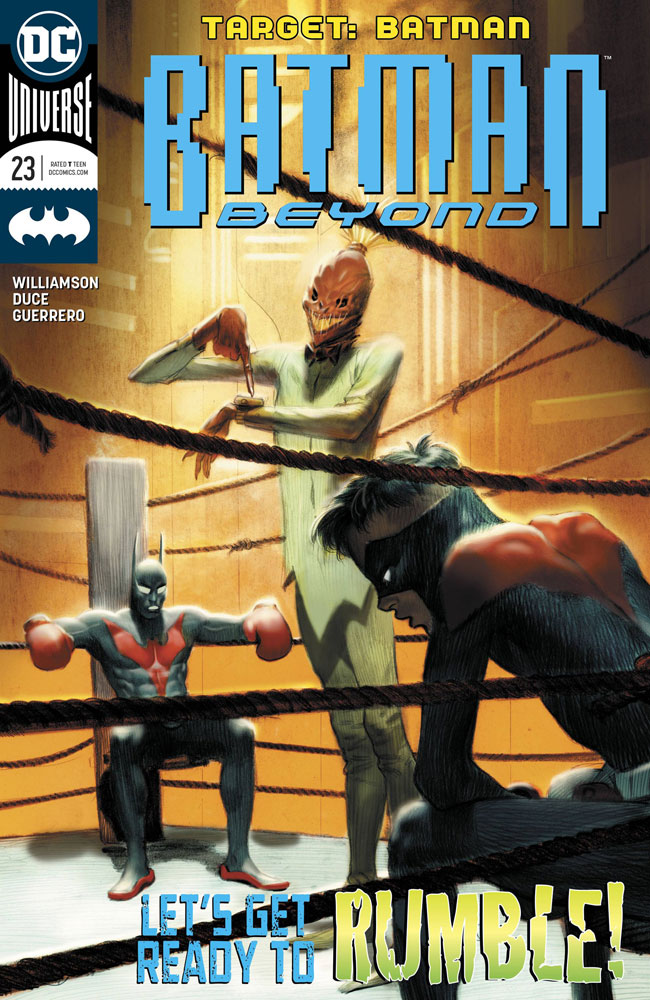 Image: Batman Beyond #23 - DC Comics