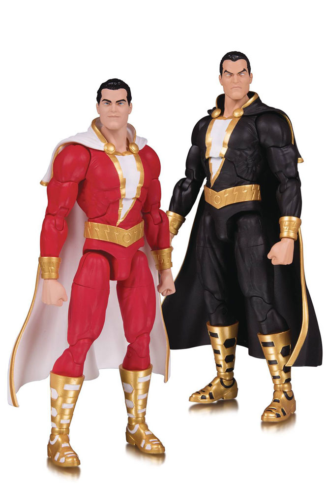 Image: DC Essentials Action Figure 2-Pack: Shazam! & Black Adam  - DC Comics