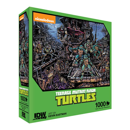 Image: Teenage Mutant Ninja Turtles Universe by Kevin Eastman 1000 Piece Puzzle  - IDW Publishing