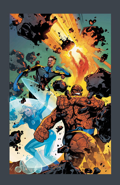 Image: Fantastic Four #1 (variant cover - Lupacchino)  [2018] - Marvel Comics