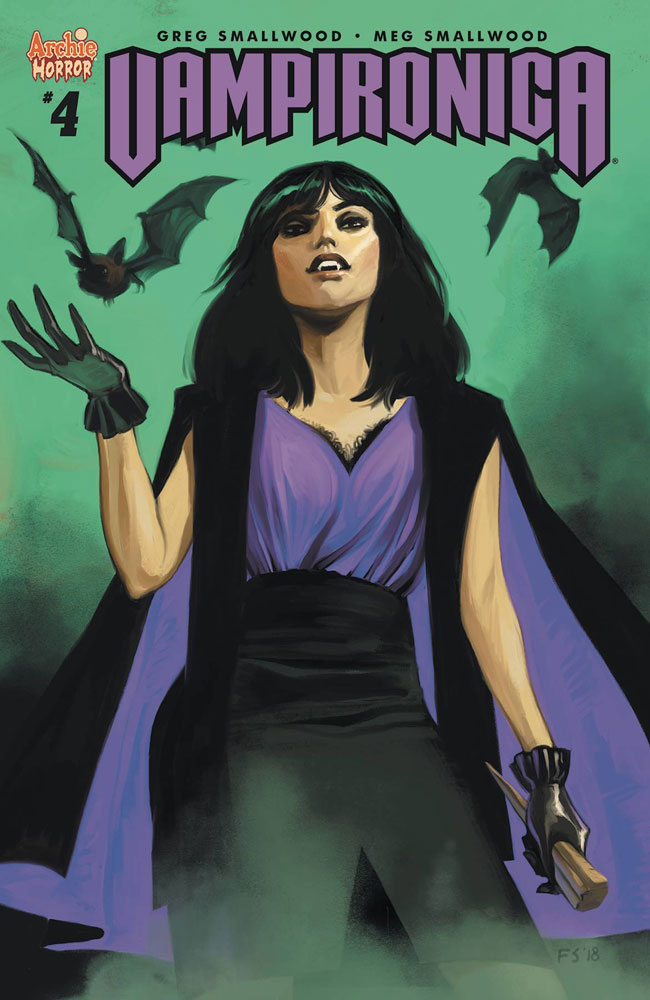 Image: Vampironica #4 (cover C - Staples)  [2018] - Archie Comic Publications