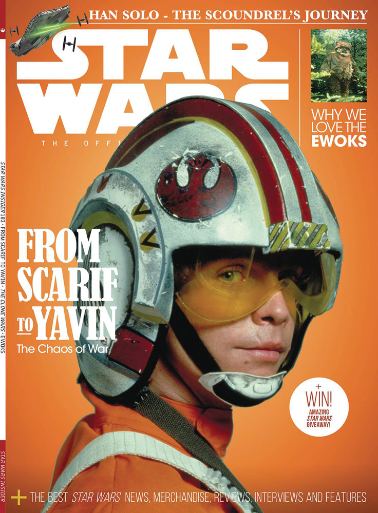 Image: Star Wars Insider #183 (newstand cover) - Titan Comics
