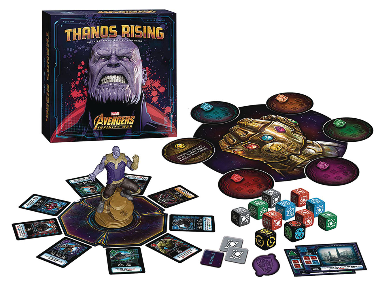 Avengers: Infinity War Board Game - Thanos Rising  - Usaopoly