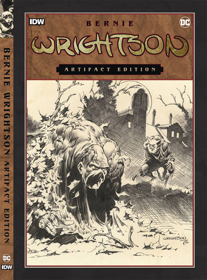 Image: Bernie Wrightson Artifact Edition HC  - IDW Publishing