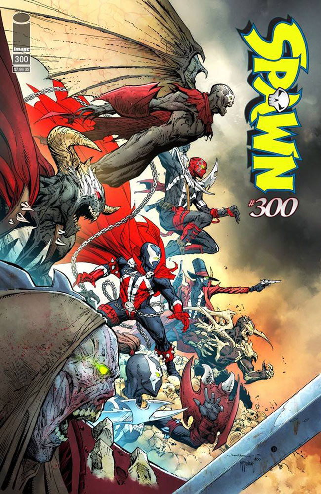 Image: Spawn #300 (cover H - Opena)  [2019] - Image Comics