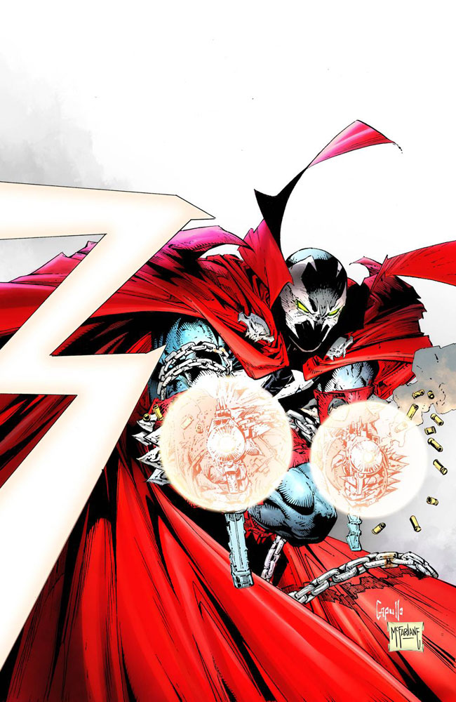 Image: Spawn #300 (cover K incentive - Capullo & McFarlane virgin) (25-copy)  [2019] - Image Comics