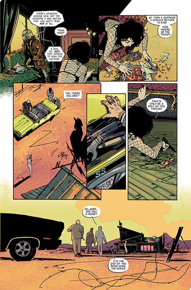 Coffin Bound #1 - Image Comics