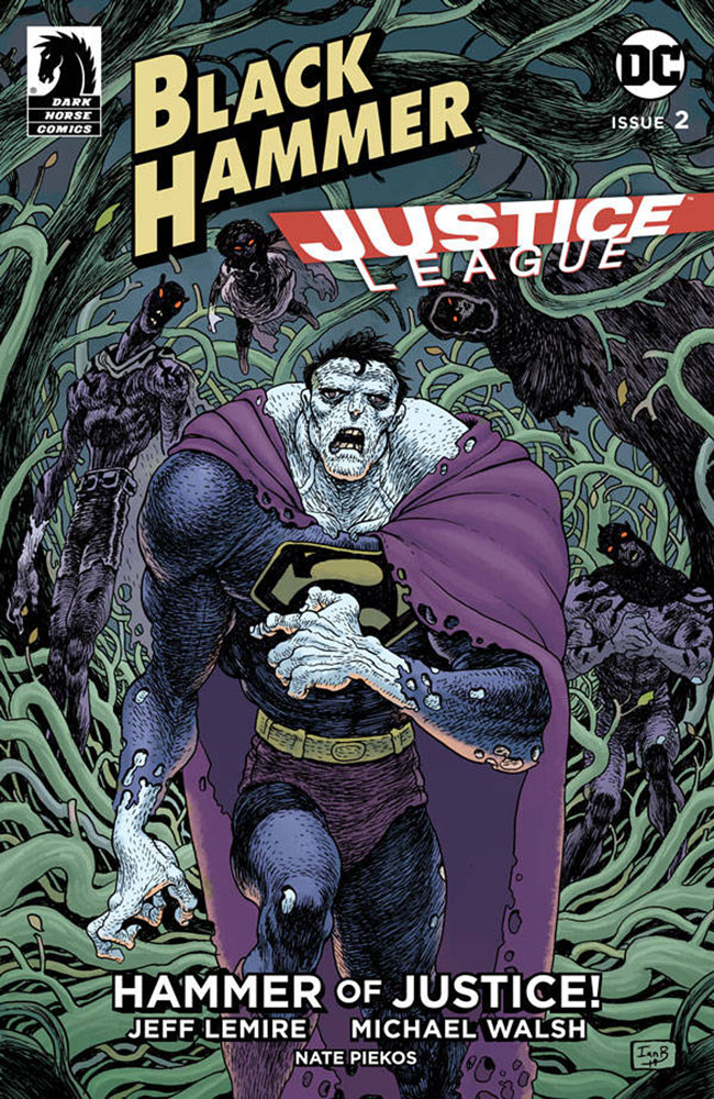 Image: Black Hammer / Justice League #2 (cover C - Bertram) - Dark Horse Comics