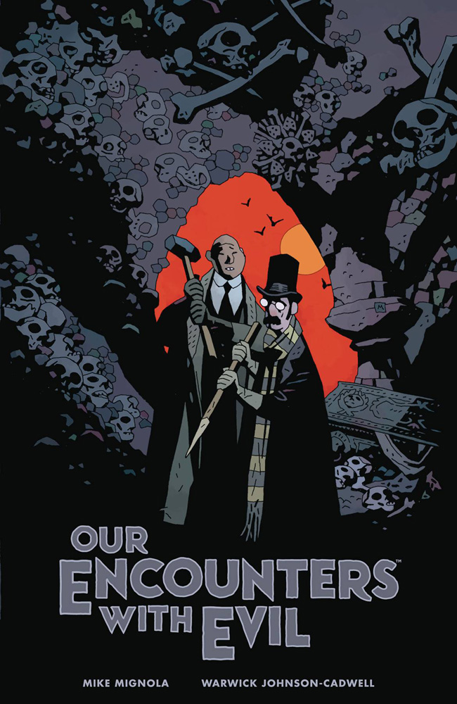 Image: Our Encounters With Evil: Adventures of Professor J.T. Meinhardt and His Assistant Mr. Knox HC  - Dark Horse Comics