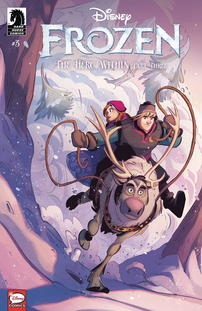 Image: Disney Frozen: Hero Within #3 (Kawaii Creative Studio) - Dark Horse Comics