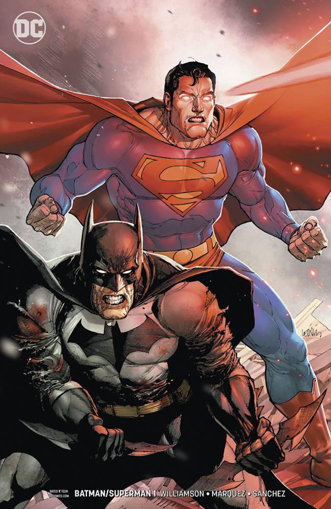 Batman/Superman #1 Leinil Yu cover