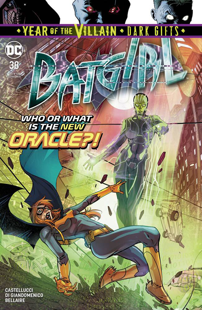 Image: Batgirl #38 (Year of the Villain - Dark Gifts)  [2019] - DC Comics