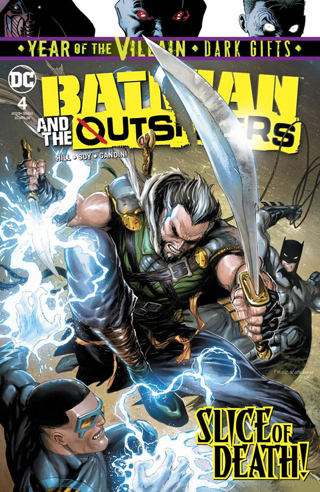 Image: Batman & the Outsiders #4 (Year of the Villain - Dark Gifts)  [2019] - DC Comics