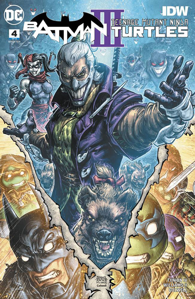 Image: Batman / Teenage Mutant Ninja Turtles III #4  [2019] - DC Comics/IDW