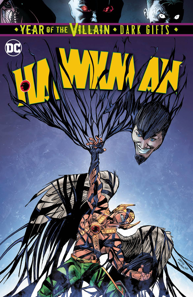 Hawkman #15 featuring one of the