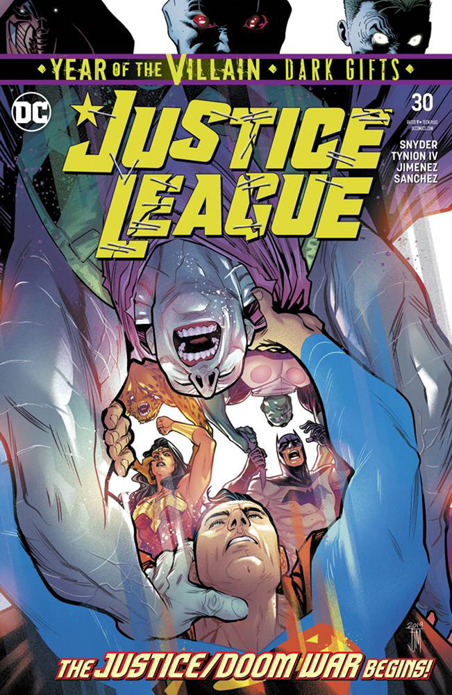 Image: Justice League #30 (Year of the Villain - Dark Gifts)  [2019] - DC Comics