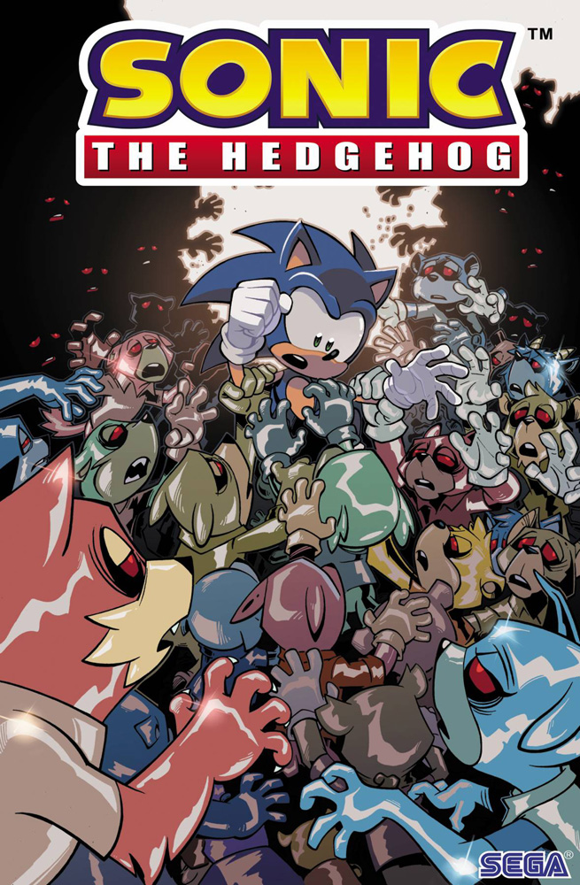 Image: Sonic the Hedgehog #20 (cover A - Yardley) - IDW Publishing