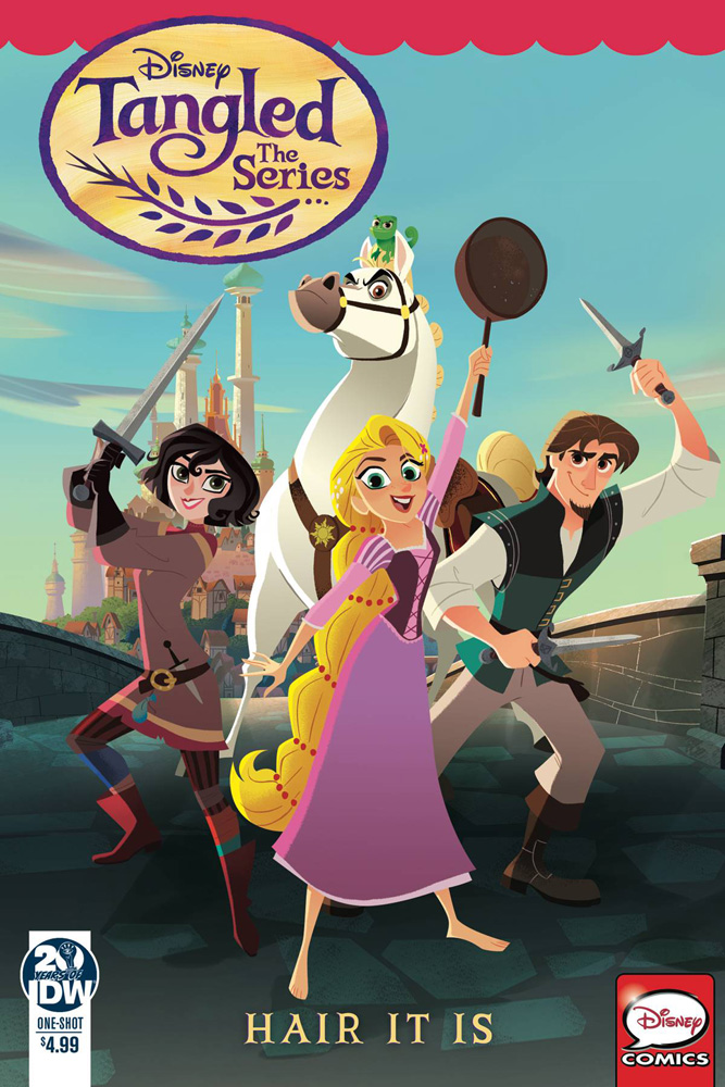 Image: Tangled: The Series: Hair It Is  - IDW Publishing