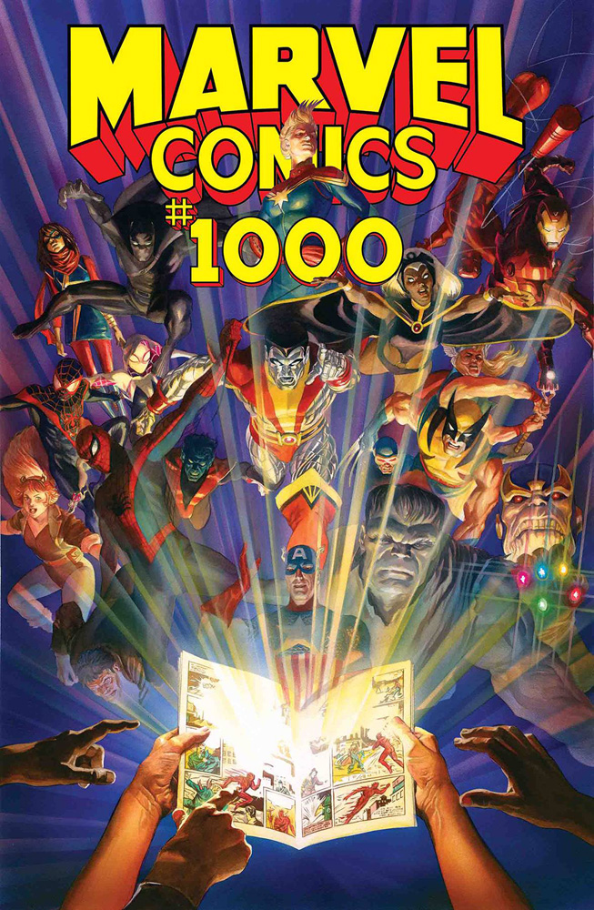 Marvel Comics #1000 Alex Ross cover