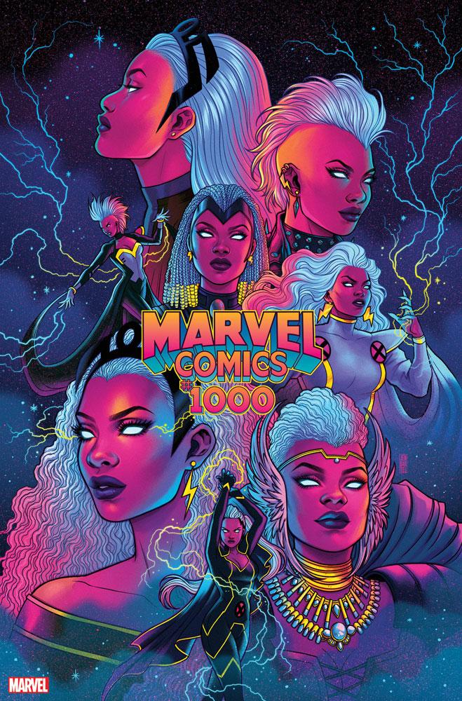Marvel Comics #1000 Jen Bartel cover