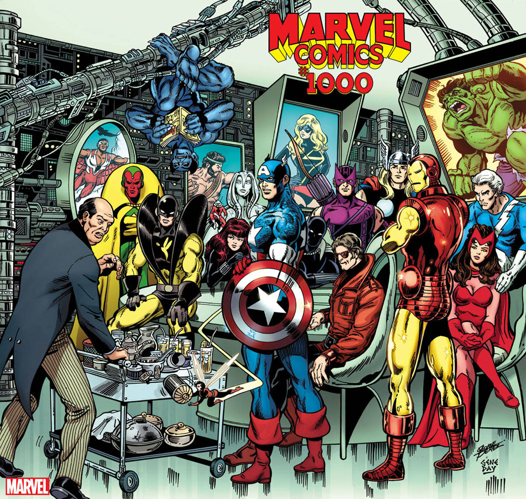 Marvel Comics #1000 George Perez cover
