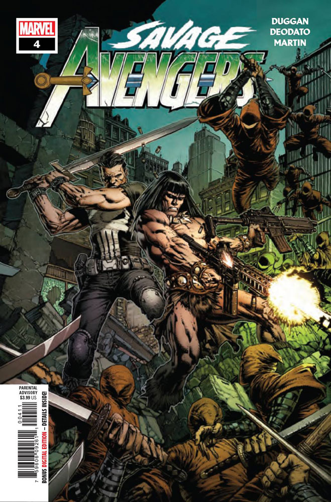 Image: Savage Avengers #4 - Marvel Comics