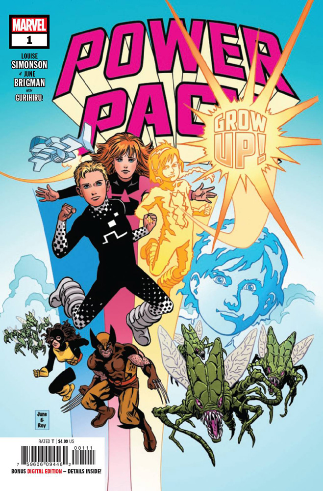 Image: Power Pack: Grow Up! #1 - Marvel Comics