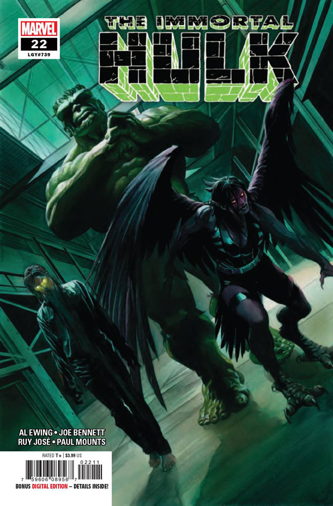 IMMORTAL HULK #20 WITH THE CARNAGE-IZED LETTERHEAD VARIANT