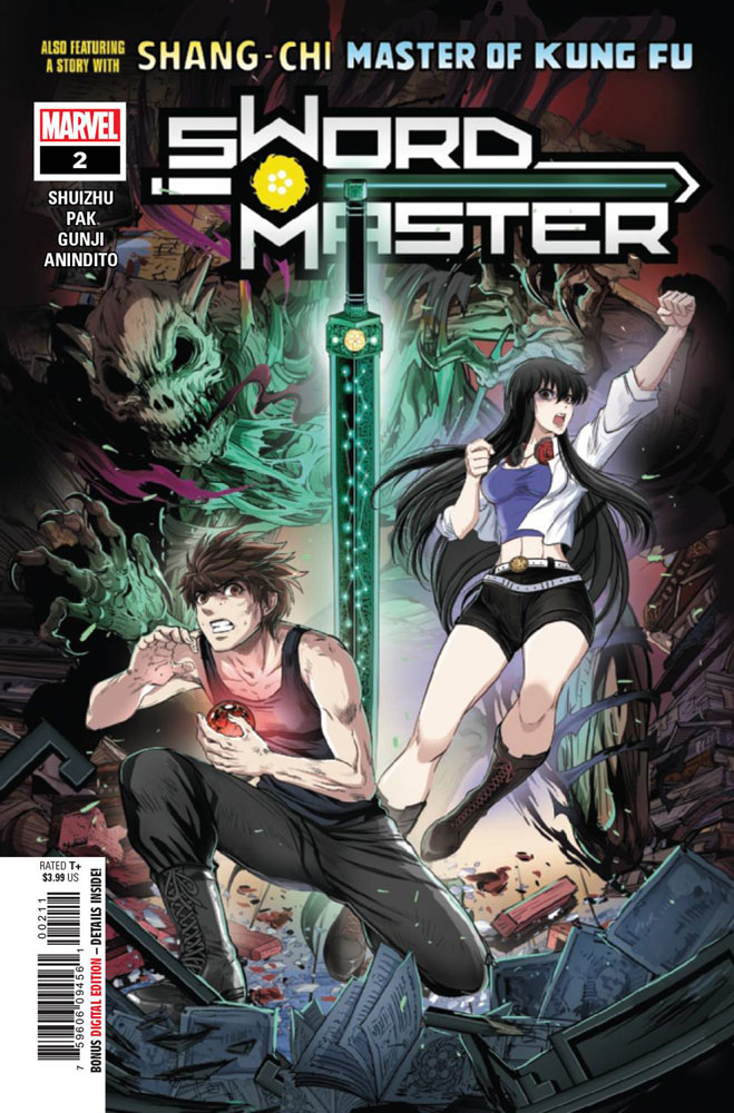 Image: Sword Master #2 - Marvel Comics