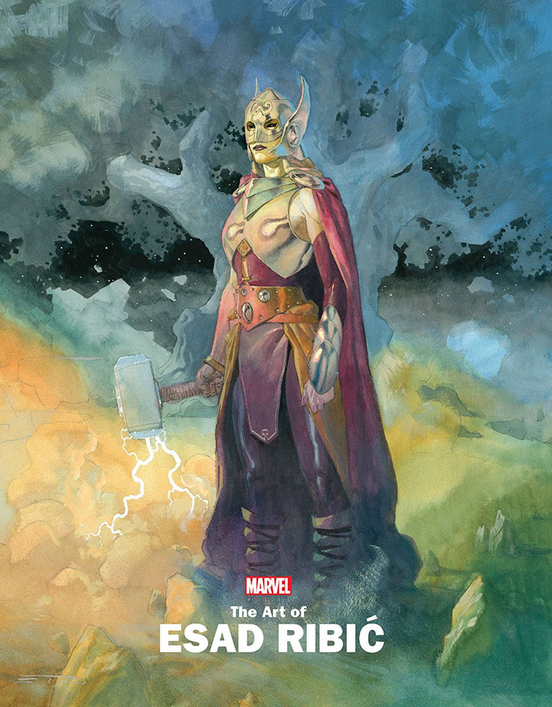 Image: Marvel Monograph: Art of Esad Ribic SC  - Marvel Comics