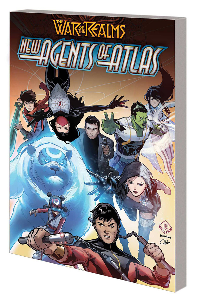 Image: War of the Realms: New Agents of Atlas SC  - Marvel Comics