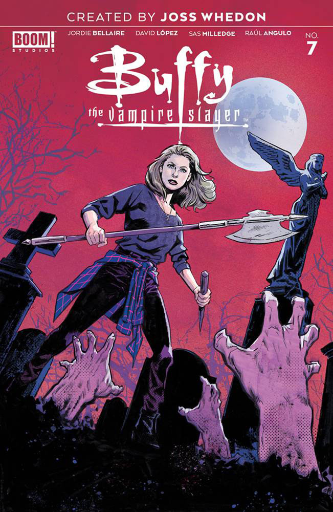 Image: Buffy the Vampire Slayer #7 (incentive cover - Walsh) (25-copy) - Boom! Studios