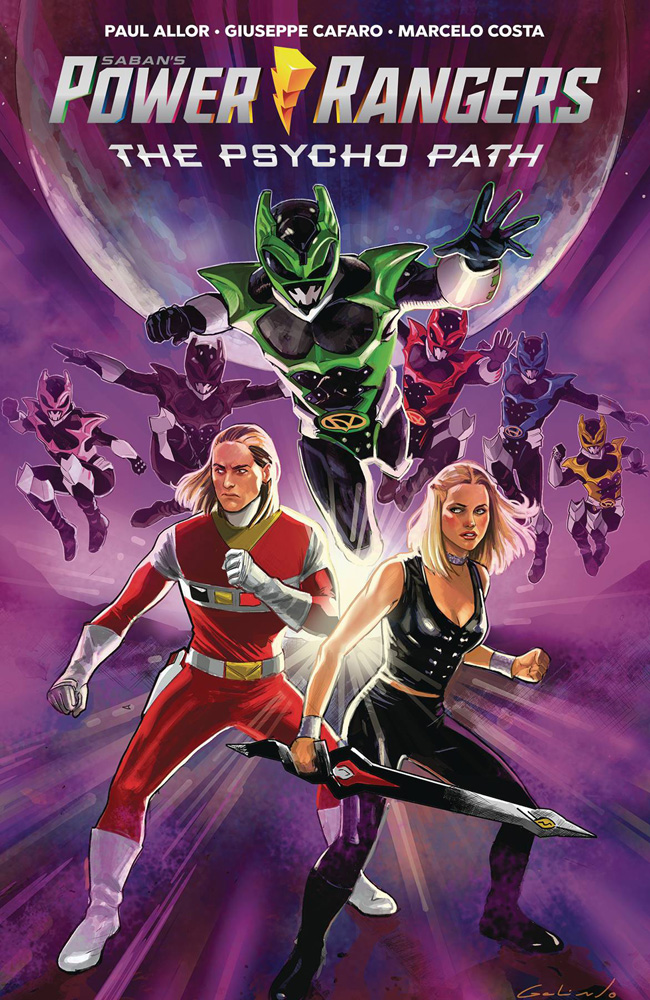 Image: Saban's Power Rangers: The Psycho Path SC  - Boom! Studios