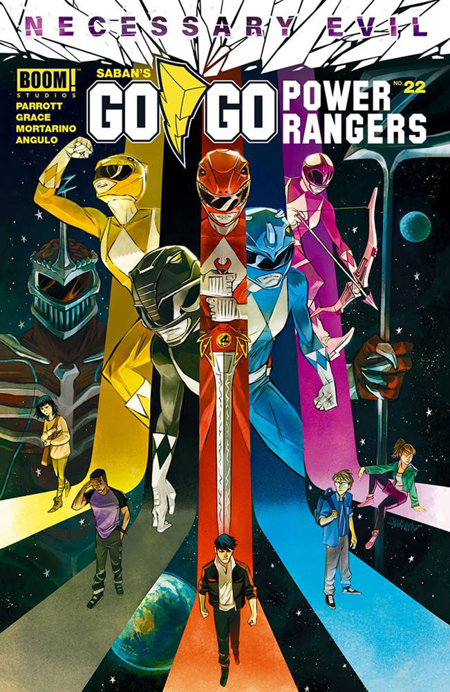 Image: Go Go Power Rangers #22 (cover A - Shavrin) - Boom! Studios